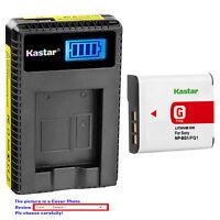 Kastar Battery LCD Charger for Sony NP-BG1 NPBG1 & Cyber-shot DSC-W100 Camera