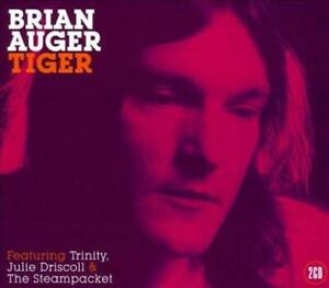 BRIAN AUGER FEAT TRINITY JULIE DRISCOLL & THE STEAMPACKET – TIGER 2CDs (NEW)