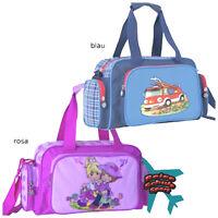 Sporttasche Reisetasche Kindergarten Tasche rosa Mädchen blau Feuerwehr
