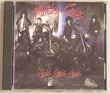 Motley Crue Girls Girls Girls 1987 CD Collectible Very Good Not a Music Club CD