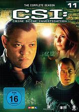 6 DVDs * CSI : LAS VEGAS - STAFFEL / SEASON 11 # NEU OVP §