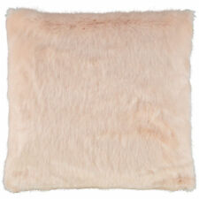 TED BAKER Aubrey Faux Fur Cushion 45x45cm - Nude
