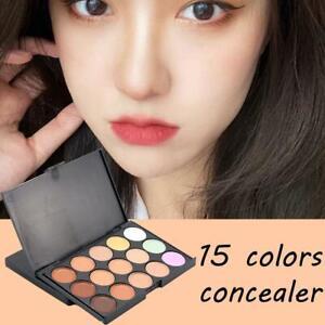 15Color Face Highlighter Powder Palette Blusher Concealer Contour Palette