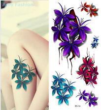 3D Tatouage Temporaire 19x9cm étanche Neuf Collection (3D-16)