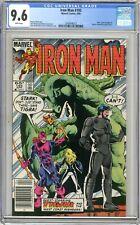 Iron Man  #193  CGC  9.6  NM+  White pgs 4/85 West Coast Avengers & Doctor Demon