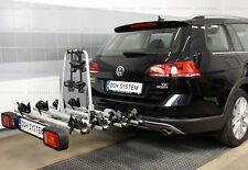 Bike Rack Cycle Carrier Towbar Mounted Tilting option for 4 bicycles GIRO 4