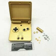 New Gold Housing Shell Case For Nintendo Gameboy Advance SP GBA SP Console