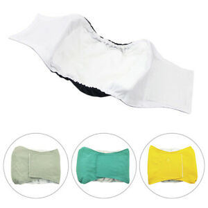 Dog Reusable Nappy Physiological Cotton Diaper Belly Band Menstrual Wrap Pants