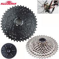 SUNRACE 9 Speed 11-40T Cassette &Adapter Fit Shimano Sram MTB Bike Flywheel