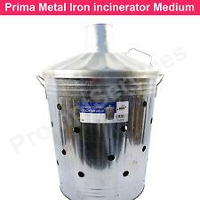 Prima Iron Metal Incinerators Medium Garden Waste Wood Fire Bin Burner