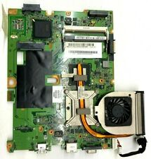 Used HP Compaq CQ50-139WM Motherboard with Heatsink and cooling fan.