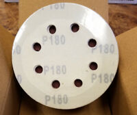 "KEEN Abrasives 50 Hook & Loop Sanding Discs 4 1/2""/115mm, AO180D #5A-F0008"