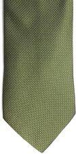 "Nicole Miller Men's Silk Tie 58.5"" X 3.75"" Greens (Olive/Lime) Geometric"