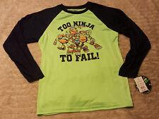 NWT TMNT Teenage Mutant Ninja Turtles Boys XL Long Sleeve Shirt