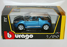 Burago - CITROEN DS3 (Blue) - Die Cast Model - Scale 1:24