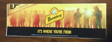 BUNDABERG RUM IT'S WHERE YOU'RE FROM STICKER,BUNDABERG RUM STICKER,BUNDY RUM