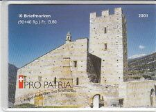 Schweiz  Pro Patria 2001  MH 0-121  oo