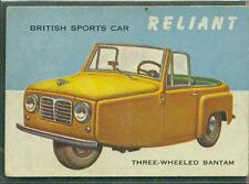 1954 TOPPS WORLD ON WHEELS # 115 RELIANT VG+
