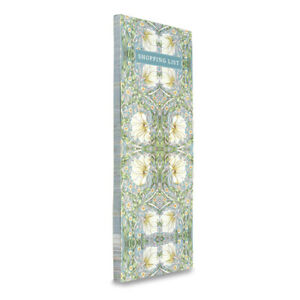 Memo William Morris Pimpernel Magnet Shopping To Do List Notepad Planner Lined