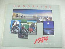 1984 HONDA MOTORCYCLES ACCESSORIES & APPAREL Dealer Sales Brochure MINT!