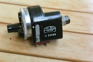 Carl Zeiss Jena 436/7 Turret Universal  Finder, for parts or repair