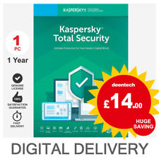 Kaspersky Total Security 2019 (1PC) Antivirus Multi-Device Genuine License