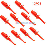 10PCS Multimeter Test Hooks Clip Grabbers Probes for PCB IC SMT/ SMD IC D20