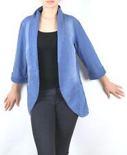 Damen Blazer Bluse Jacke Jeans 3/4 Arm  Größe 34 36 38 40 42 44 46 48 neu  51252