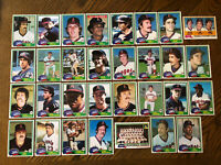 1981 CALIFORNIA ANGELS Topps Complete Baseball Team Set 31 Cards CAREW BAYLOR!