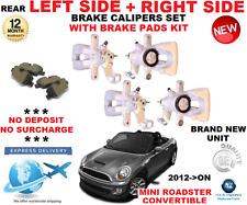 para MINI Roadster FRENO TRASERO Calibrador 2012>On IZQUIERDA Y DERECHA CON