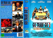 """VHS - """" Go Trabi GO -2 - Das war der wilde Osten """" (1992) - Wolfgang Stumph"""