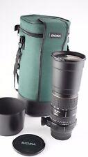 Sigma AF APO 170-500mm F/5-6.3 Lens for Minolta Sony Alpha DG