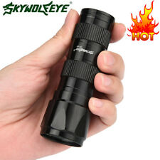 Mini 9000LM LED High Power Torch Tactical Flashlight AAA Lamp Black Ourdoor USA