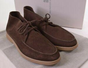Brunello Cucinelli NWB Chukka Size 43 10M US In Brown Suede $895