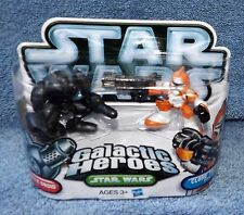 STAR WARS GALACTIC HEROES 2010 SUPER BATTLE DROID & CLONE TROOPER BOMB SQUAD
