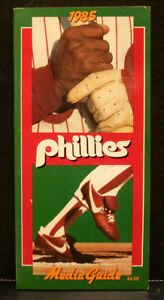 1985 Philadelphia Phillies Official Media Press Guide, 192 Pages of Facts & Fun!