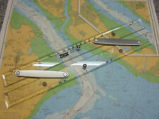 """Weems & Plath 15"""" Parallel Rule with Protractor scale - Marine Chart Navigation"""
