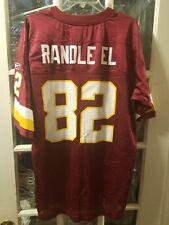 Antwaan Randle El Washington Redskins Jersey Adult L Indiana Hoosiers Steelers