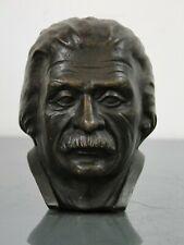 Bronzefigur,Horst Ankermann,Berlin,Albert-Einstein-Büste,Kopf,DDR,Bildhauer