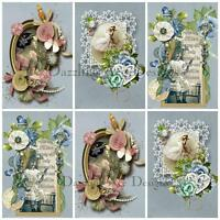 Amelia Rose...Embellishments, Card Making Toppers, Card Toppers