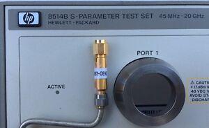 HP 8514B S-Parameter Test Set 45MHz-20GHz 5063-0690