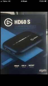 Elgato HD60 S 1080p60 Game Capture Card Like new