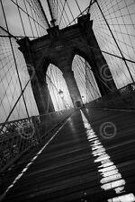 Moises Levy Brooklyn Bridge 1 2010 Photograph New York City Print Poster 18x26