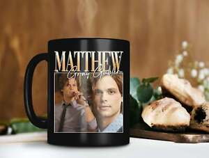 Matthew Gray Gubler Mug Dr. Spencer Reid Mug Criminal Minds Tv Series Funny Cup