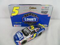 2004 Team Caliber Owners Autograph Kyle Busch #5 Lowe's 1/24 Scale Diecast
