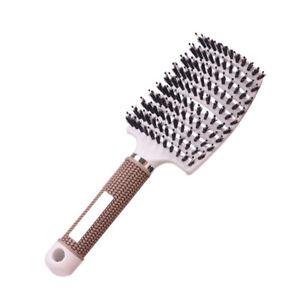 Hair Scalp Massage Comb Hairbrush Nylon Women Wet Curly Detangle Hair Br DL