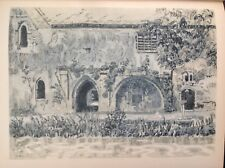 The Abbey, Little Coggeshall,  Essex, 1947 Vintage Print