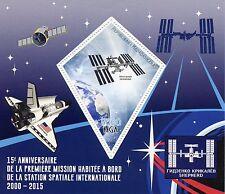 Madagascar 2015 MNH International Space Station 1st Manned Mission 1v S/S Stamps