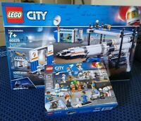 LEGO CITY 60229 & 60230 ROCKET ASSEMBLY & TRANSPORT, PEOPLE PACK