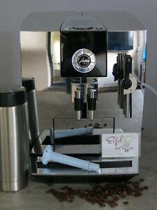 ~~~ Jura Impressa J9 Kaffeevollautomat in Chrom One Touch Funktion! Zubehör! ~~~